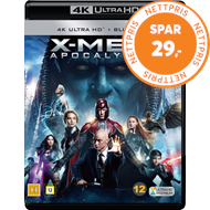 Produktbilde for X-Men: Apocalypse (4K Ultra HD + Blu-ray)