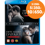 Produktbilde for Fifty Shades Of Grey 1-2 (BLU-RAY)