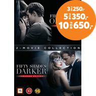 Produktbilde for Fifty Shades Of Grey 1-2 (DVD)