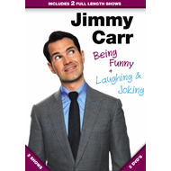 Jimmy Carr - Laughing And Joking / Being Funny (DVD) (DVD)