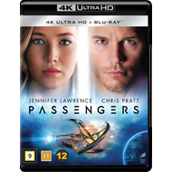 Produktbilde for Passengers (4K Ultra HD + Blu-ray)
