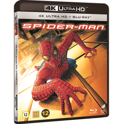 Spider-Man 1 (2002) (DK-import) (4K Ultra HD + Blu-ray)