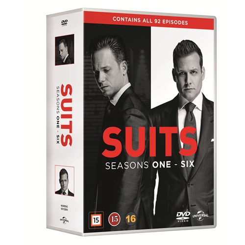 Suits - Sesong 1 - 6 (DVD)