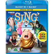 Produktbilde for Syng (Blu-ray 3D + Blu-ray)