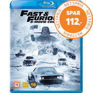 Produktbilde for Fast & Furious 8-Movie Collection (BLU-RAY)