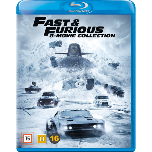 Fast & Furious 8-Movie Collection (BLU-RAY)