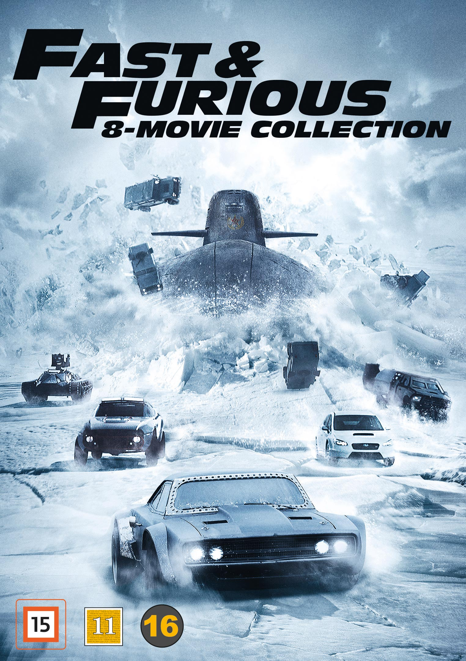 fast furious 8 movie collection. Black Bedroom Furniture Sets. Home Design Ideas