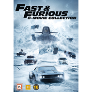 Fast & Furious 8-Movie Collection (DVD)