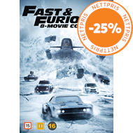 Produktbilde for Fast & Furious 8-Movie Collection (DVD)
