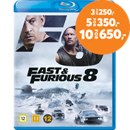 Produktbilde for Fast & Furious 8 (BLU-RAY)