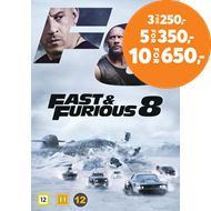 Produktbilde for Fast & Furious 8 (DVD)