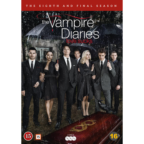 The Vampire Diaries - Sesong 8 (DVD)