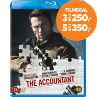 Produktbilde for The Accountant (BLU-RAY)