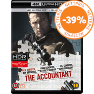 Produktbilde for The Accountant (4K Ultra HD + Blu-ray)