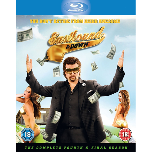 Eastbound And Down - Sesong 4 (UK-import) (BLU-RAY)