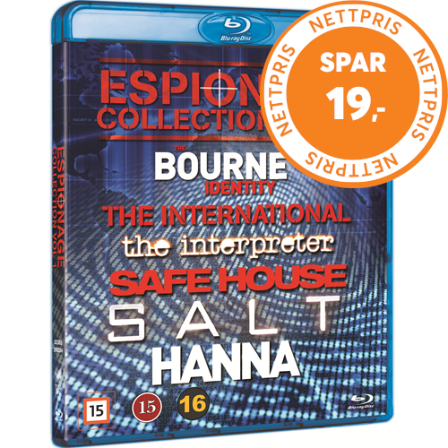 Espionage Collection Vol. 1 (BLU-RAY)