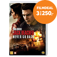 Produktbilde for Jack Reacher 2 - Vend Aldri Tilbake (DVD)