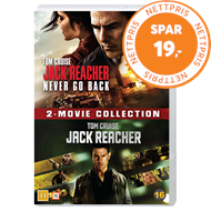 Produktbilde for Jack Reacher 1-2 Box Set (DVD)