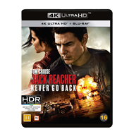 Produktbilde for Jack Reacher 2 - Vend Aldri Tilbake (4K Ultra HD + Blu-ray)