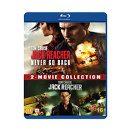 Jack Reacher 1-2 Box Set (BLU-RAY)