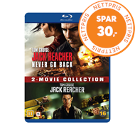 Produktbilde for Jack Reacher 1-2 Box Set (BLU-RAY)