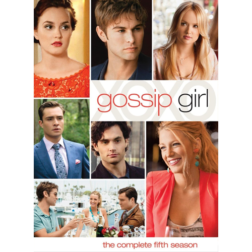 Gossip Girl - Sesong 5 (UK-import) (DVD)
