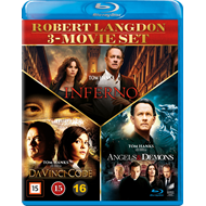 Robert Langdon 3-Movie Set  (BLU-RAY)