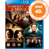 Produktbilde for Robert Langdon 3-Movie Set  (BLU-RAY)