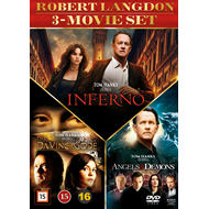 Robert Langdon 3-Movie Set (DVD)