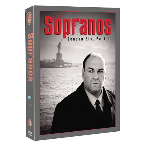 The Sopranos - Sesong 6, Del 2 (UK-import) (DVD)