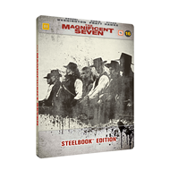 The Magnificent Seven - Limited Steelbook Edition (DK-import) (BLU-RAY)