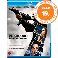 Produktbilde for The Mechanic: Resurrection (DK-import) (BLU-RAY)