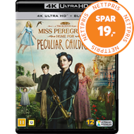Produktbilde for Miss Peregrine's Home For Peculiar Children (4K Ultra HD + Blu-ray)