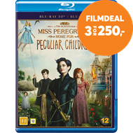 Produktbilde for Miss Peregrine's Home For Peculiar Children (Blu-ray 3D + Blu-ray)