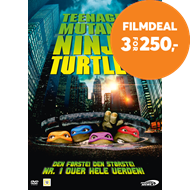 Produktbilde for Teenage Mutant Ninja Turtles (DVD)