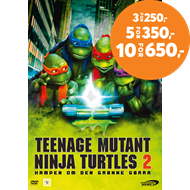 Produktbilde for Teenage Mutant Ninja Turtles II: The Secret Of The Ooze (DVD)