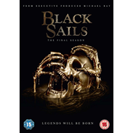 Black Sails - Sesong 4 (UK-import) (DVD)