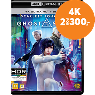 Produktbilde for Ghost In The Shell (4K Ultra HD + Blu-ray)