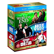 The World's End / Hot Fuzz / Shaun Of The Dead (UK-import) (BLU-RAY)