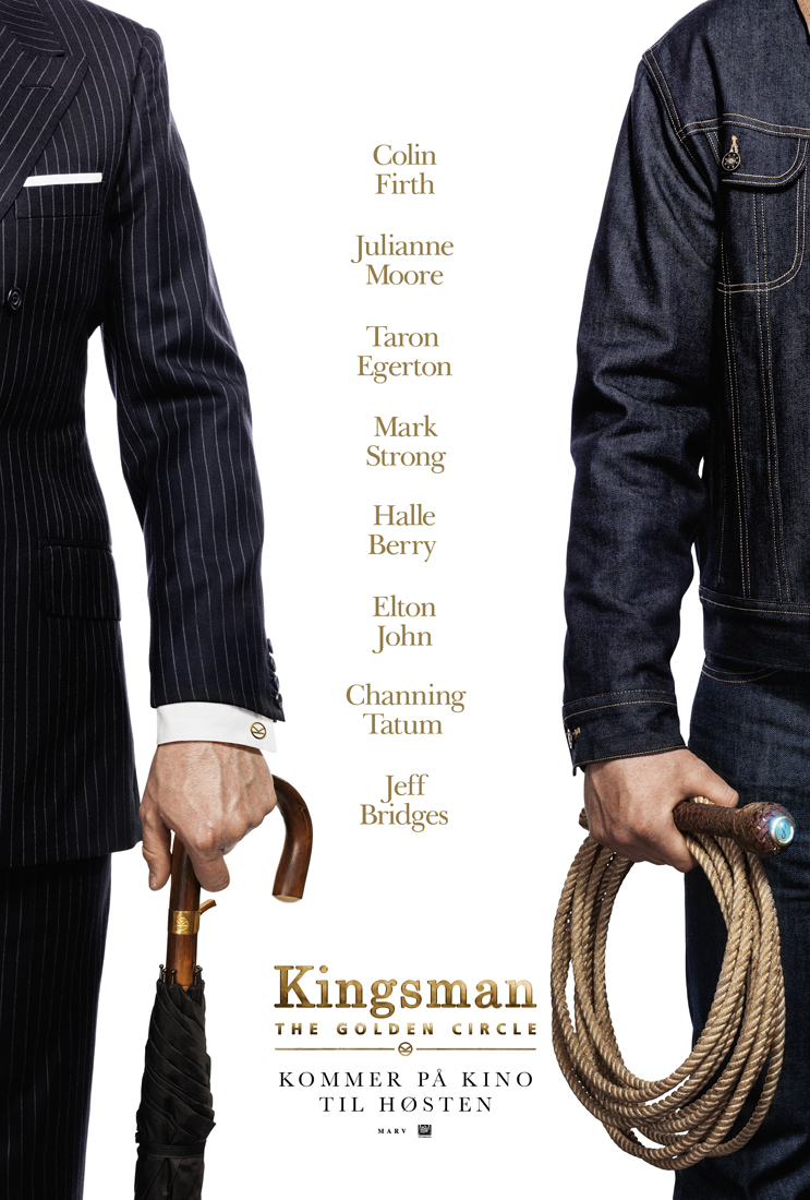 Kingsman 2 - The Golden Circle (DVD)