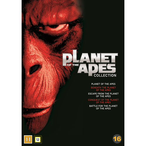 Planet Of The Apes Collection (1968-1973) (DVD)