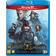 Pirates Of The Caribbean 5 - Salazar's Revenge (Blu-ray 3D + Blu-ray)