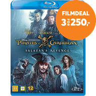 Produktbilde for Pirates Of The Caribbean 5 - Salazar's Revenge (BLU-RAY)