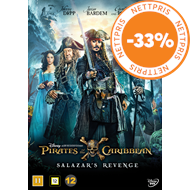 Produktbilde for Pirates Of The Caribbean 5 - Salazar's Revenge (DVD)