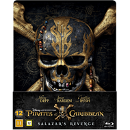Pirates Of The Caribbean 5 - Salazar's Revenge: Limited Steelbook Edition (BLU-RAY)