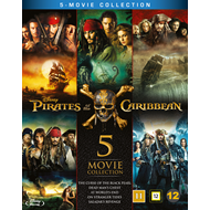 Pirates Of The Caribbean - 5-Movie Collection (BLU-RAY)