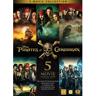 Pirates Of The Caribbean - 5-Movie Collection (DVD)