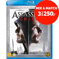 Produktbilde for Assassin's Creed (Blu-ray 3D + Blu-ray)