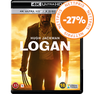 Produktbilde for Logan (4K Ultra HD + Blu-ray)
