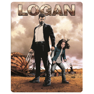 Logan - Steelbook Edition (Blu-ray + DVD)